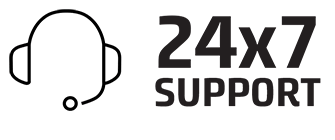 24x7support